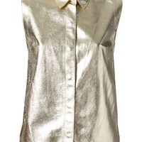 3.1 Phillip Lim metallic shirt
