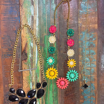 Statement Necklace 4 Pack!