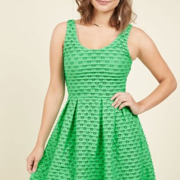 Learn the Yard Way Dress in Clover