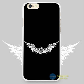 Supernatural's Castiel's protection tattoo Phone Case For iPhone 7 7Plus 6 6s Plus 5 5s SE