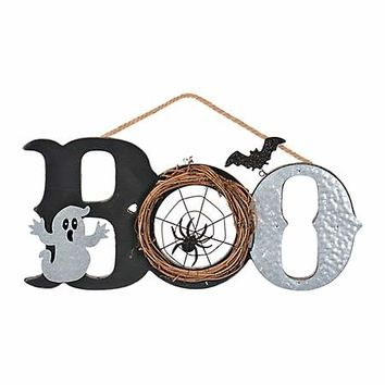 Boo Hanging Halloween Sign | Kirklands