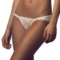 Besame Women's Lace Sexy String Thong High Quality White #4427 Made in Colombia
