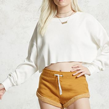 Raw-Cut Crop Top