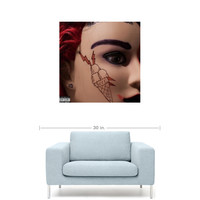 "ILoveMakonnen - Big Gucci [SINGLE] 20"" x 20"" Premium Canvas Gallery Wrap Home Wall Art Print"