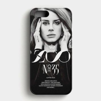 Lana Del Rey Cigarettes iPhone SE Case