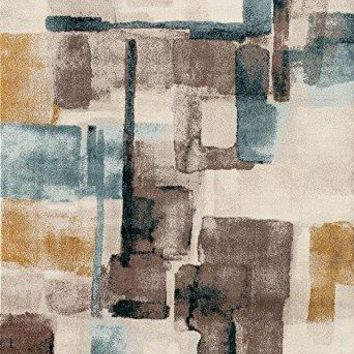 2248 Multi Distressed Contemporary Area Rugs