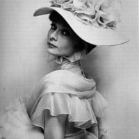 1960s, actress, audrey hepburn, black and white, cecil beaton, fashion - inspiring picture on Favim.com