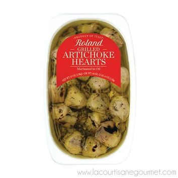 Grilled Artichoke Hearts Marinated in Vinegar and Oil 67 oz