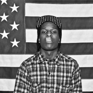 HOT Asap Rocky,Bass- music silk fabric cloth Poster Print For Home Decorative painting