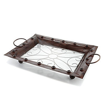 Pomeroy Jackson Serving Tray - Brown