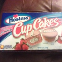 Hostess Strawberry Cupcakes 8 Cake Package 13.5 oz