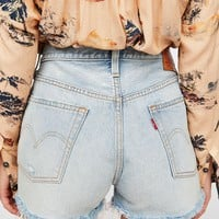 Levi's 501 High Rise Denim Shorts