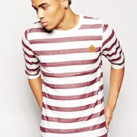 Jack & Jones 3/4 Sleeve Stripe Top