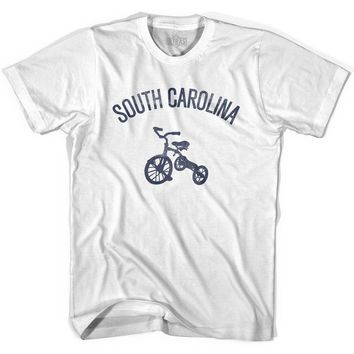 South Carolina State Tricycle Womens Cotton T-shirt