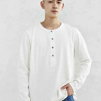Neuw Ren Grandpa Long-Sleeve Henley Shirt