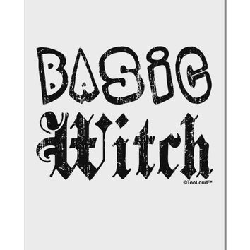 "Basic Witch Distressed Aluminum 8 x 12"" Sign"