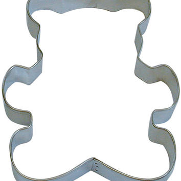 "Large 5"" TEDDY BEAR Cookie Cutter New teddie"