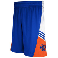 New York Knicks adidas 2014 Pre-Game Shorts – Royal Blue