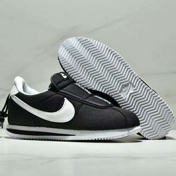 Kendrick Lamar x Nike Cortez Basic Slip Jointly versatile casual fashion sports shoes