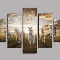 Picture Print Cheap Price Art Pictures  Abstract Canvas Print Oil Painting No Frame