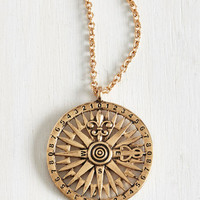 Travel Cicerone Confidence Necklace by ModCloth