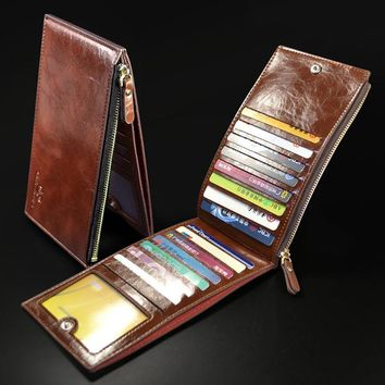 Men's Wallets Quality PU Leather