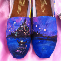 CUSTOM disney Princess shoes