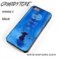 The Lion King Movie, Simba, Remember Who You Are Hakuna Matata For Iphone 5 Iphone 5S Case UY