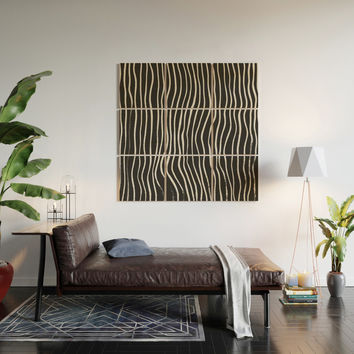 minimal movement Wood Wall Art by duckyb