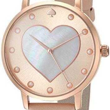 Leather Strap Metro Heart Watch kate spade new york