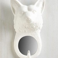 ModCloth Woodland Creature See Sly to Eye Mirror