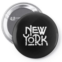 new york Pin-back button