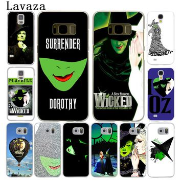 Lavaza Broadway Musical Wicked Lyrics Hard Style Phone Shell Case for Samsung Galaxy S7 S6 Edge S3 S4 S5 S8 S9 Plus Cover