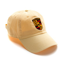 "Club Foreign Logo Hat ""Black Horse"" Beige"