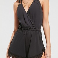 Out From Under Kali Crochet Romper | Urban Outfitters