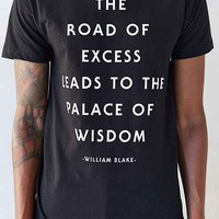 L.A.T.H.C. Road Of Excess Tee- Black