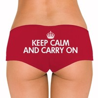 Classic Keep Calm Undies: Dirty Laundry