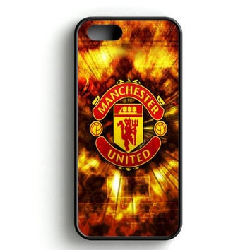 Manchester United FC Logo iPhone 4s iPhone 5s iPhone 5c iPhone SE iPhone 6|6s iPhone 6|6s Plus Case
