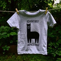 Adventure? Alpaca bag! boho graphic tee