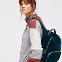Free People Russo Faux Fur Backpack