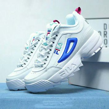 FILA DISRUPTOR 2 2018 new thick-soled sports running shoes