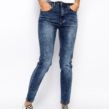 Zee.Gee.Why Super Tight Skinny Acid Wash Jeans