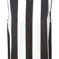COMBINATION STRIPED BLOUSE - Tops - Woman - ZARA United States