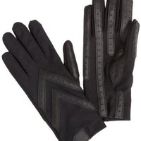 Amazon.com: Isotoner Women's Spandex Shortie Unlined Glove,Black,One Size: Clothing