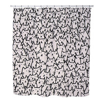 Because Cats Pattern custom Shower Curtains
