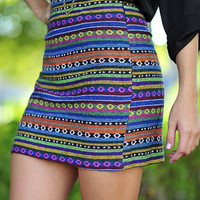Recycle And Reuse Skirt: Multi | Hope's
