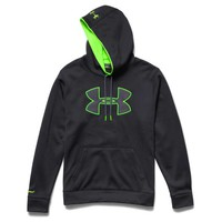 Under Armour Storm Armour Fleece Big Logo Hoodie for Men in Black 1259632-001