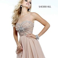 Sherri Hill Short Dress 11034 at Prom Dress Shop