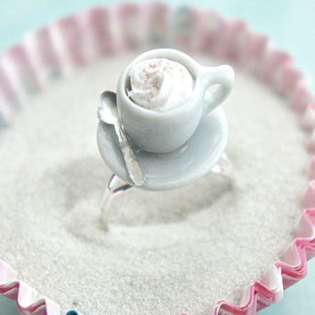 cappuccino cup ring