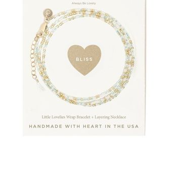 Tess and Tricia Bliss Carded Bracelet